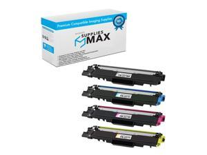 SuppliesMAX Replacement for Brother DCP-L3510/L3550/HL-L3210/L3270/L3290/MFC-L3710/L3730/L3750/L3770CDW Toner Cartridge Combo Pack (BK/C/M/Y) (TN-227MP)