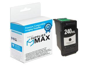 SuppliesMAX Compatible Replacement for CIG118019 Black Extra High Yield Inkjet (600 Page Yield) - Equivalent to Canon PG-240XXL