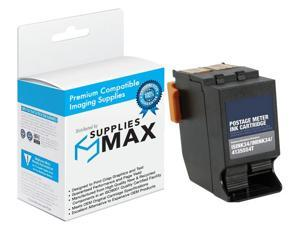 SuppliesMAX Replacement for DPCECO34 Red Postage Meter Inkjet (8500 Page Yield) - Equivalent to NeoPost IS-INK34 / 4135554T