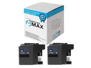 LC-79XXLBK/_2PK 2//PK-2400 Page Yield SuppliesMAX Compatible Replacement for Brother MFC-J5910//J6510//J6710//J6910DW Black Inkjet