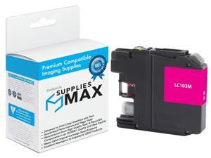 LC-103-3BK2CMY SuppliesMAX Compatible Replacement for Brother DCP-J132//J522//J752//J4110//MFC-J245//450//J4310//J6920DW Inkjet Combo Pack 3-BK//2-C//M//Y