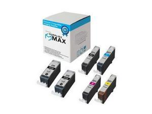SuppliesMAX Compatible Replacement for Canon PGI-220/CLI-221 Inkjet Combo Pack (2945B015)