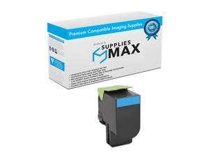 SuppliesMAX Compatible Replacement for Lexmark CS-510DE/CS-510DTE Cyan Extra High Yield Toner Cartridge (4000 Page Yield) (NO. 701XC) (70C2XCE)