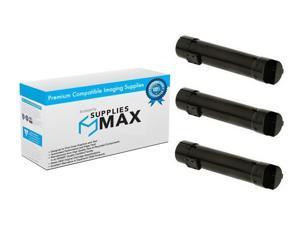 SuppliesMAX Compatible Replacement for Lexmark C950de Black Toner Cartridge 3//PK-38000 Page Yield C950X2KG/_3PK