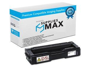 SuppliesMAX Compatible Replacement for Ricoh SP-C250/SP-C260/SP-C261 Series Black Toner Cartridge (2300 Page Yield) (TYPE C250A) (407543)