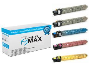 SuppliesMAX Compatible Replacement for Lexmark C546//X546//X548 Toner Cartridge Combo Pack C546U2BCMY BK//C//M//Y