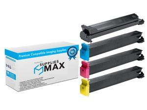 484-206MP BK//C//M//Y SuppliesMAX Compatible Replacement for Lanier LD260C//275C Toner Cartridge Combo Pack Type MPC7500A