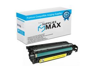 SuppliesMAX Compatible Replacement for HP Color LaserJet Enterprise 600 Color M651DN/M651N/M651XH Yellow Toner Cartridge (15000 Page Yield) (NO. 654A) (CF332A)