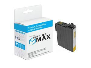 SuppliesMAX Compatible Replacement for Expression Home XP-5100/WF-2860 Yellow Inkjet (470 Page Yield) (NO. 202XL) (T202XL420)