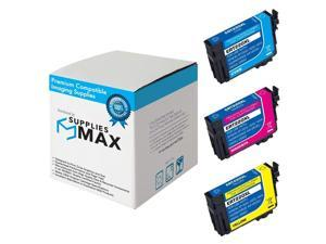 SuppliesMAX Compatible Replacement for NO. 220XL Inkjet Combo Pack (C/M/Y) (T220120CMY)