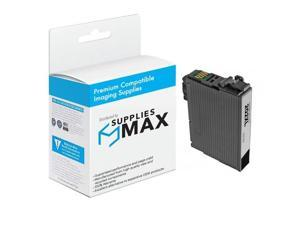 SuppliesMAX Compatible Replacement for Expression Home XP-5100/WF-2860 Black Inkjet (550 Page Yield) (NO. 202XL) (T202XL120)