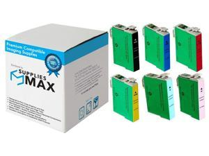 SuppliesMAX Compatible Replacement for NO. 79 Inkjet Combo Pack (BK/C/M/Y/PC/PM) (T079MP-US)