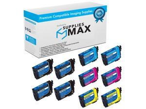 SuppliesMAX Compatible Replacement for NO. 220XL Inkjet Combo Pack (4-BK/2-C/M/Y) (T2201204B2C2M2Y)
