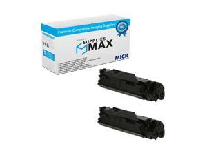 SuppliesMAX Compatible MICR Replacement for Canon MF-4010/4130/4150/4370/4380/6570 Toner Cartridge (2/PK-2000 Page) (FX-10_2PK)
