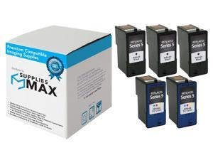 SuppliesMAX Replacement for Dell A922/924/942/944/946/962/964 Inkjet Combo Pack (3-Black/2-Color) (Series 5) (310-6970_3PK/310-6971_2PKMP)