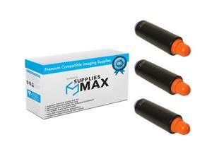 SuppliesMAX Compatible Replacement for Canon IR Advance 6055//6065//6075//6255//6555//6565//6575 Black Copier Toner 3766B002/_3PK 3//PK-56000 Page Yield GPR-38