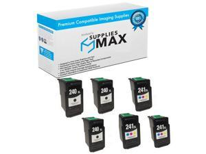 F47-0761-400//F47-0771-400MP BCI-11 Black//Color SuppliesMAX Compatible Replacement for Canon BJC-35//50//55//70//80//85 Inkjet Combo Pack
