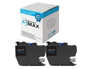 SuppliesMAX Compatible Replacement for Brother DCP-J1100//MFC-J805//J815//J995//J1300DW Black Ultra High Yield Inkjet LC-3035XXLBKBP2 2//PK-6000 Page Yield