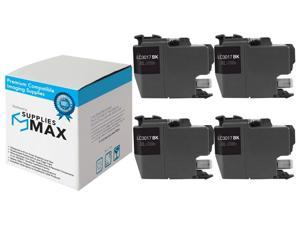 LC-3017XLY/_2PK SuppliesMAX Compatible Replacement for Brother MFC-J5330//J5335//J5730//J76530//J6830DW Yellow High Yield Inkjet 2//PK-550 Page Yield