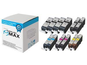 2//PK SuppliesMAX Compatible Replacement for Canon PIXMA IX-7000//MX-7600 Black Inkjet PGI-7BK/_2PK