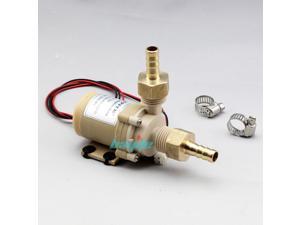 12V DC Quiet Solar Hot Water Circulon Pump High Quality Food Grade Coupler US