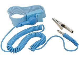 NEW BLUE Anti Stc Antistc ESD Adjustable Wrist Strap Band US SELLER