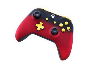Xbox One Custom Controller - Red Shadow & Gold Edition