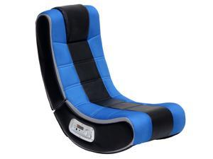X Rocker Wireless V Rocker SE 2.1 Audio Gaming Chair Blue