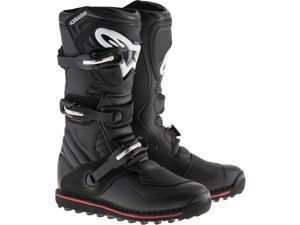 Alpinestars Tech-T Boots Black/Red Sz 9