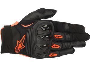 Alpinestars Megawatt Gloves Black/Anthracite/Orange Lg