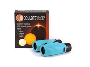 sunoculars-blue with 8x the magnification of eclipse glasses