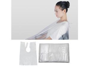 100xx Disposable Hair Cutting Cape Gown Protect Hairdresser Barber Capes