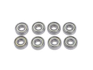 8pcs Frictionless Abec 7 Skateboard Roller Skate Bearings Replacement Roller