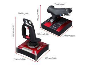 PXN-2119II Flight Gaming Joystick Simulator USB Controller