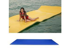 Water Float Mat Swim Pool Floating Pad Lake Unsinkable Mattress Oasis Toy
