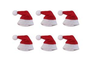 Mini Santa Claus Hats Christmas Holiday Decoration For Lollipop