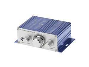 12V Hifi Stereo Audio Amplifier Speaker Phone PC MP3 Input Car Home