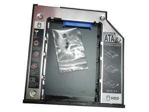9.5mm SATA To SATA 2nd SSD HDD Hard Drive Caddy for Dell E6400 E6500 E6410 E6510 M2400 M4400 M4500