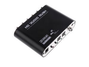 SPDIF Coaxial to 5.1 AC3/DTS Audio Decoder Gear Surround Sound Rush for PC