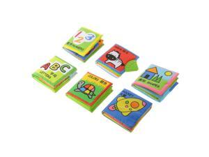 Infant Baby Children Kids Intelligence Developmental Cloth Book Toy Set Gift