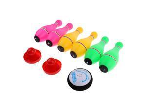 Kids Children Bowling Game Set Luminous Bowling Pins Toy Game Bowling Set