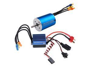 2838 Sensorless Brushless Motor+35A Brushless ESC for 1/14 1/16 1/18 RC Car