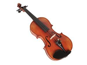 4/4 Full Size Acoustic Violin with Case Bow Rosin Tuner for Beginners