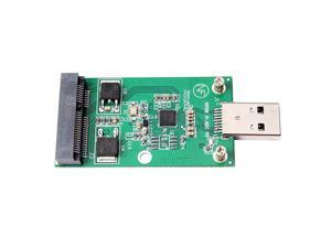 External 5cm mSATA SSD to USB 3.0 Convertor Solid State Drive Adapter Card
