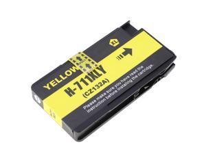 Yellow Ink Cartridges for Deskjet 711 CZ133A CZ130A CZ131A CZ132A