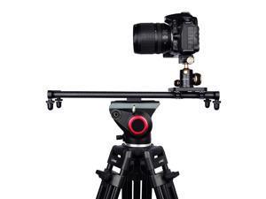 Adjustable Carbon Fiber DSLR Camera Slider Dolly Track Video Stabilizer Rail