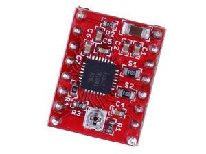 A4988 Stepper Motor Driver Module with Heat Sink for 3D Printer Red