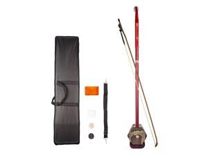 2 String Erhu Chinese Traditional Redwood Musical Instruments Accessories
