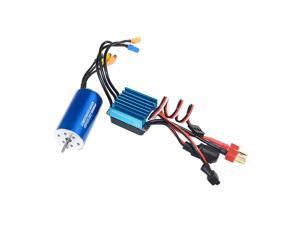Brushless System 2445 Brushless Motor&35A Brushless ESC for 1/14 1/16 RC Car