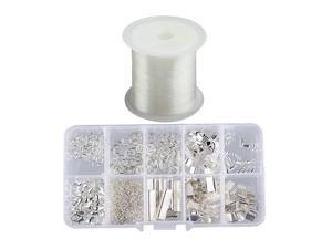 Jewelry Making Starter Kits Findings +Crystal Cord String Beading Thread
